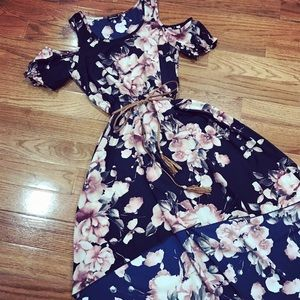 Dresses & Skirts - High Low Floral Dress
